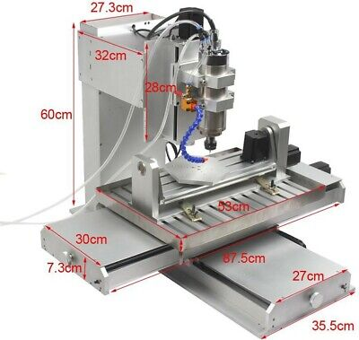 Mini CNC Mill - Full 5 Axes Simultaneous. FULLY Assembled With PC In UK • 3,999£
