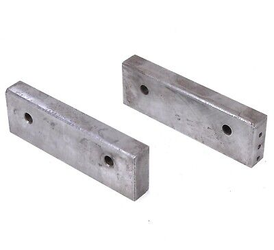 Kurt PT800-PTH800 Pair Of Jaws 8  X 2-1/2 X 1  For Clamping Vise • 94.11£