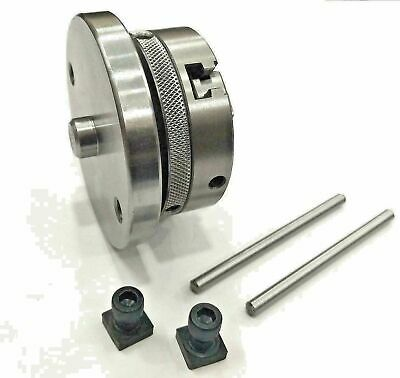 65mm 3 Jaw Self Centering Chuck With Back Plate Milling High Quality Free Shippi • 50.25£