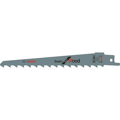 Bosch S617K Wood Cutting Reciprocating Saw Blades Pack Of 5 • 14.95£