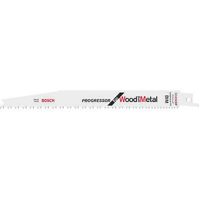 Bosch S3456XF Progressor Wood And Metal Cutting Reciprocating Saw Blades Pack Of • 12.95£