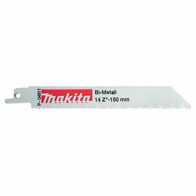 Makita Metal Reciprocating Saw Blades 150mm Pack Of 5 • 13.95£