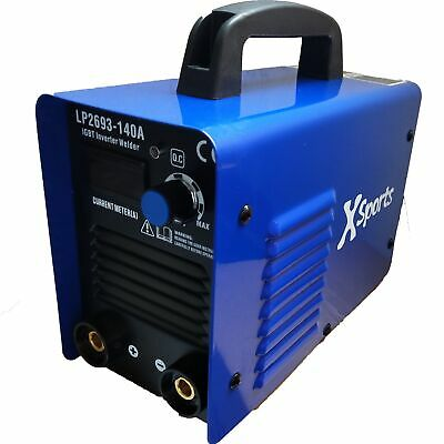 Mma 140a 1gbt Inverter Dc Welder Arc Stick Portable Welding Machine + Electrodes • 67.99£