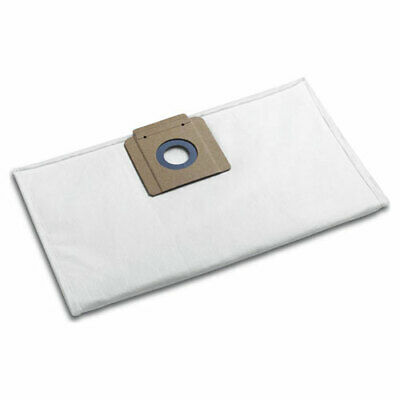 Karcher Fleece Filter Dust Bags For BV And T Series Vacuum Cleaners Pack Of 10 • 16.95£