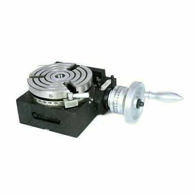Rotary Table Hv5/ 125mm Horizontally And Vertically • 140.01£