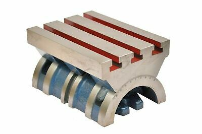 7  X 10  Adjustable / Swivel Tilting Angle Plate For Heavy Work With Graduation • 167.42£