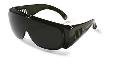 Touring Shade 5 Gas Welding & Cutting GW5 Safety Overspec Spectacles Glasses • 10.95£