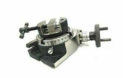 80mm ROUND VICE & FIXING TEE NUTS WITH 3  ROTARY TABLE MILLING TOOLS • 68.57£