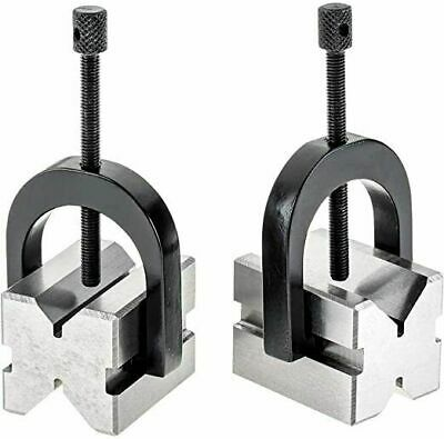 Precision V Block Set 1-1/4 X 1-1/4 X 1-1/2 In Supplied With 2 Block And 2 Clamp • 36.46£