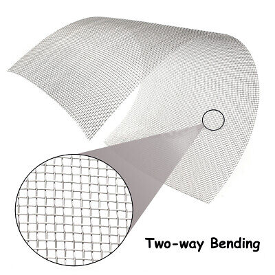 300mm X 600mm 304 Stainless Steel Mesh 8 Wire Cloth Screen 12''x24'' For Nets Uk • 8.39£