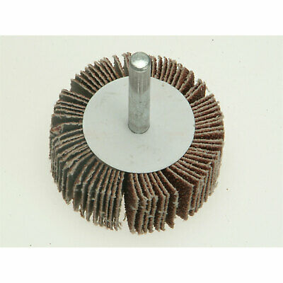 Faithfull Abrasive Flap Wheel 50mm 20mm 40g • 6.95£