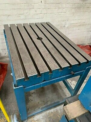 Cast Iron 'T' Slotted Bed Plate (Table), Engineers Metal Fabricators Workshop • 750£