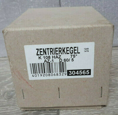 Rohm 304565, Insert For Centering Taper AZ, Size 1, MT 4, Tip Angle 75˚ • 45£