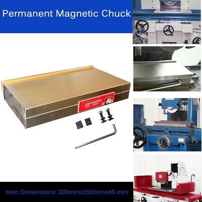 Fine Pole Permanent Magnetic Chuck 6x12inch For Grinding Milling Machine Lathe • 129.19£
