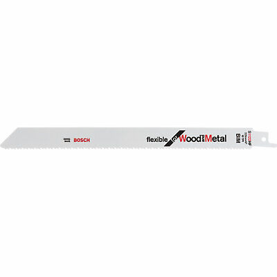 Bosch S1122HF Wood And Metal Cutting Reciprocating Saw Blades Pack Of 100 • 268.95£