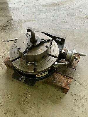 Vertex HV-16 16 /400mm Horizontal / Vertical Rotary Table With Bison 10'' Chuck  • 850£