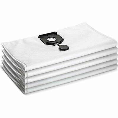Karcher Fleece Filter Dust Bags Pack Of 5 For NT 40/1 Vacuum Cleaners Pack Of 5 • 38.95£