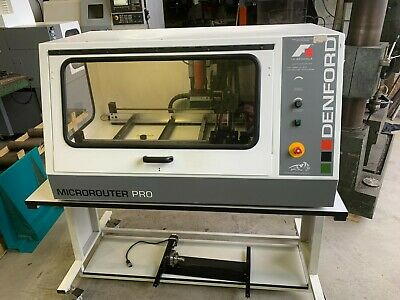 Denford Microrouter 2600 CNC Router With 4th Axis Attachment 2011 • 2,250£