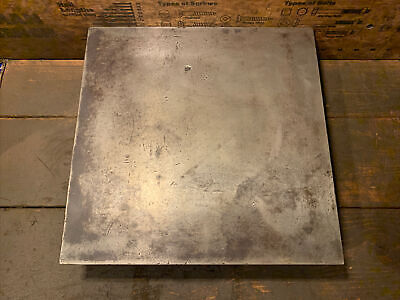 Small Engineers Toolmakers Cast Iron Surface Plate / Marking Out Table 12  X12  • 24.99£