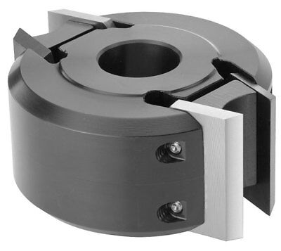 MTL 50mm Wide X 120mm Dia. X 30mm Euro Spindle Moulder Cutter Block + 00 Knives • 89.99£