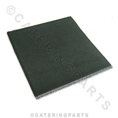 1 X SQUARE HEAT PROOF SOLDERING BRAZING MAT 250mm X 250mm (10  X 10 ) MADE IN GB • 7.50£