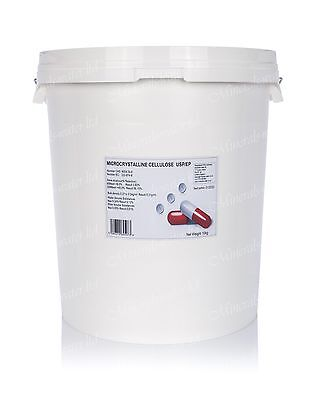 10kg Microcrystalline Cellulose Pure USP,EP Pharmaceutical Grade Superb Quality • 1,179.99£
