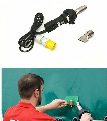 110v Forsthoff QL Hot Air Welding Tool/Gun PVC Tarpaulin Side Curtain Repair HGV • 279£