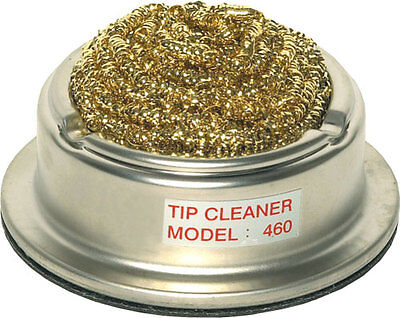 Soldering Iron Tip Cleaner - Metal Strand Tip Wire Wool Pot - Excellent Quality • 9.99£