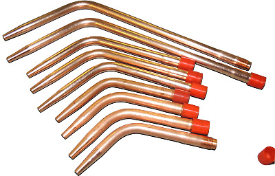 Swaged Gas Welding Nozzle (Solid Copper) - Heavy Duty Type 5 - All Sizes 1-45 • 5.25£