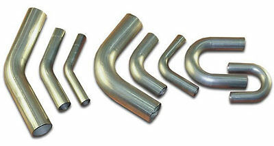 Stainless Steel Mandrel Bends Elbows 90 45 180 Degree Angles All Sizes 25mm-76mm • 17.50£