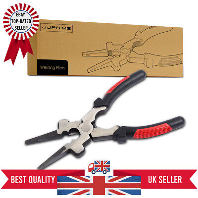 Multi Purpose MIG Welding Pliers / Pincers Quality Carbon Steel Insulated Handle • 7.99£