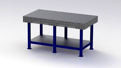 Welding Bench DXF Files / Jig Table / Fixture Table  1750mm X 900mm Plans • 25£
