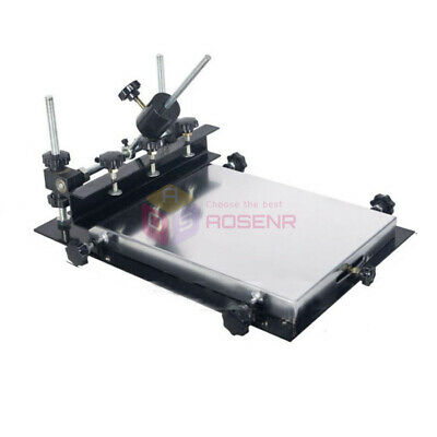 440x320mm Manual Solder Paste Printer PCB SMT Stencil Printer T-shirt Printing • 99.99£