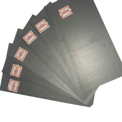 5pcs 99.99% Pure Graphite Electrode Rectangle Plate Sheet 50*40*3mm Replacement • 2.87£