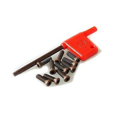 10PCs Insert Torx Screw Carbide Inserts CNC Lathe Tool With Wrench 2.5x8mm • 3.99£
