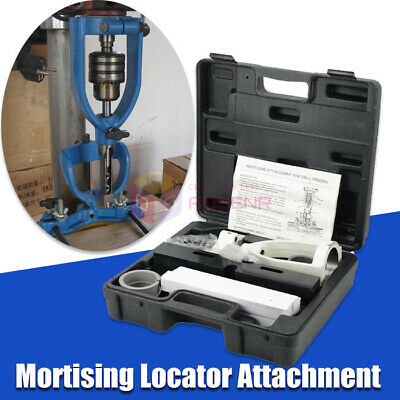 Locator Set Of Bench Drill For Mortising Chisels Woodworking Square Hole Machine • 89.99£