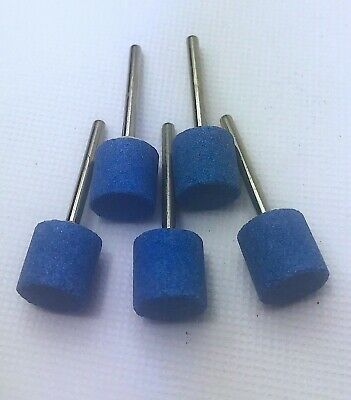 5 X Ceramic Abrasive Mounted Point - W185 Shape 13 X 13mm • 11£
