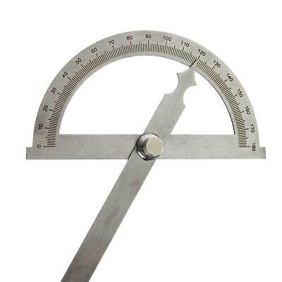 40114515 Precision Welding Stainless Steel Protractor Ruler 200MM • 14.99£