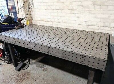 Welding Bench/Fixture Table  2000x1000mm Laser Cut  For Grovedesign  • 945£