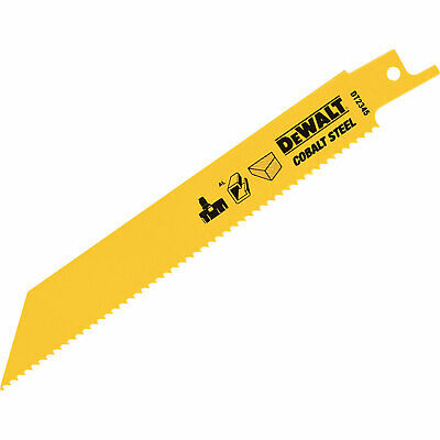 DeWalt DT2345 Bi Metal General Purpose Reciprocating Saw Blades 152mm Pack Of 5 • 17.95£