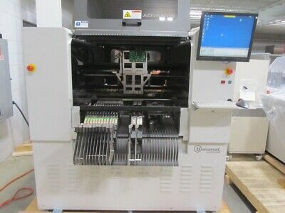 Universal Advantis 4984B AX-72E Pick And Place Machine 7 Spindle Flex Jet AC-30L • 18,080.07£