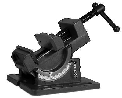 3 Drill Press Vise Bench Benchtop Industrial Strength Tilting Angle • 30.79£