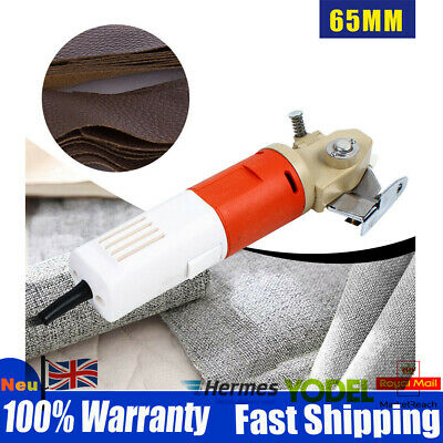 65mm Blade Electric Cloth Cutter Cutting Machine Fabric Textile Cutter 220V New • 46.03£
