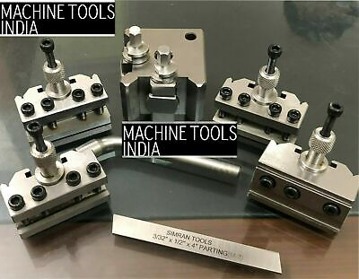 T37 Quick Change Toolpost 4 Pc For Myford Lathe  • 86.50£
