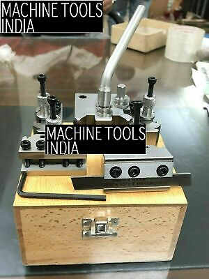 T-37 Quick Change Tool Post For Lathe 5 Pieces Set Alloy Steel With  Wooden Box • 94.99£