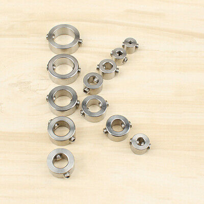 6 8 12-piece Drill Stop Collar 3- 16mm Spacing Ring For Carpentry Drill Bit Tool • 8.17£