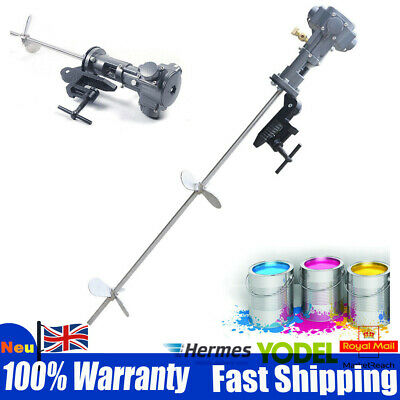 50 Gallon Pneumatic Paint Mixer Ink Coating Stirrer Blender Machine Stainless UK • 149.06£