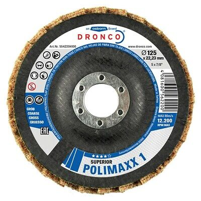 Dronco 115X22.23MM Polimaxx 3 Flap Disc Conical • 7.29£