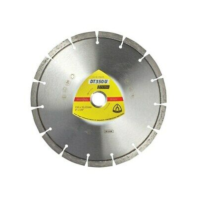 Klingspor DT 350 U Extra 115MM Universal Diamond Blade For Angle Grinders On Con • 10.69£