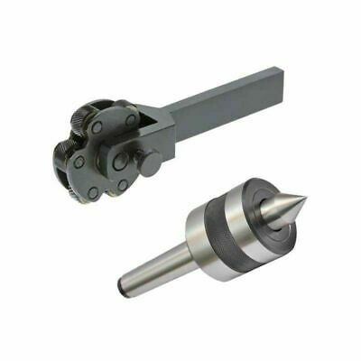 Knurling Tool 6 Knurls 6 Inch With Revolving Live Center MT1 Mounting Shank • 47.58£